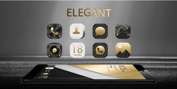 go launcher themes Elegant