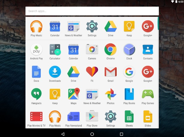 launcher android google now launcher