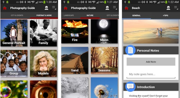 Aplikasi Kamera Android DSLR photography training apps