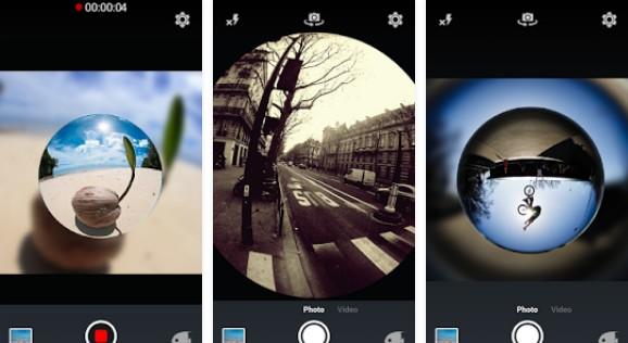 Aplikasi Kamera Cembung fisheyevideo ree