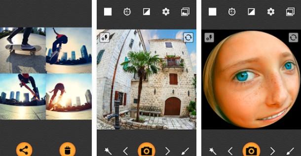 Aplikasi Kamera Cembung fisheye pro