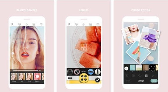 Camera untuk Android cymera photo beauty editor