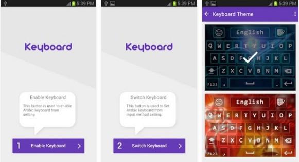 Keyboard Bahasa Arab untuk Android arabic keyboard