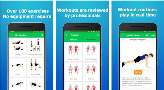 aplikasi workout