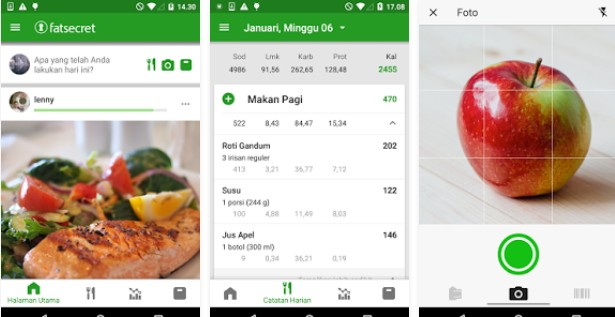 Aplikasi penghitung kalori saat olahraga