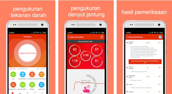 aplikasi pengukur detak jantung android