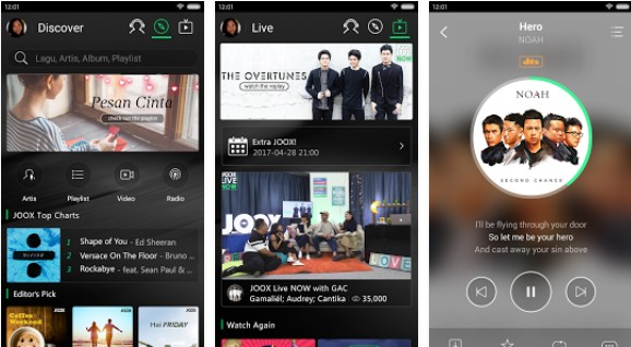 aplikasi streaming musik terlengkap android