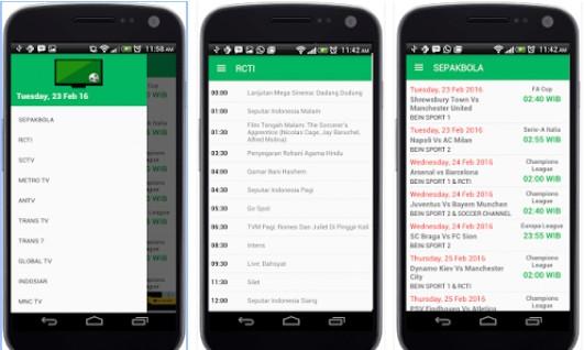 download aplikasi watch football live stream