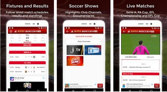 soccer live streaming tv