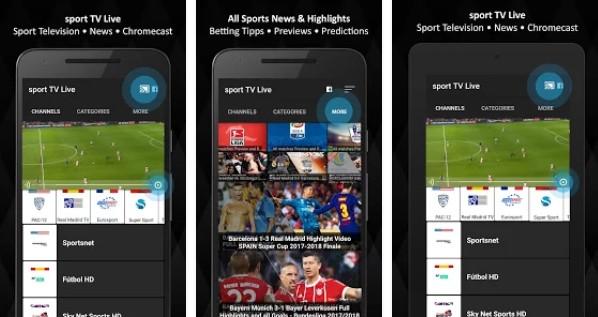 Aplikasi Streaming Bola Android