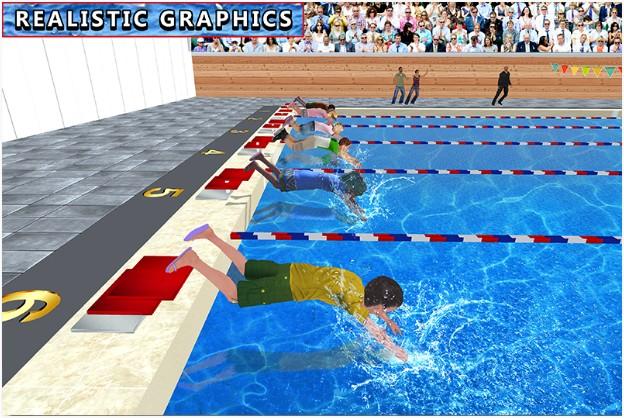 Game Anak Berenang