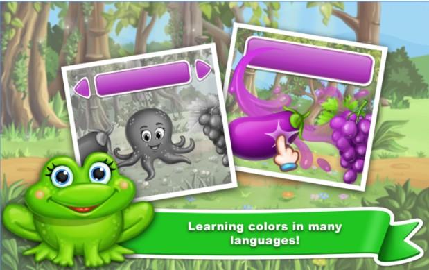 Pelajari Warna untuk anak-anak