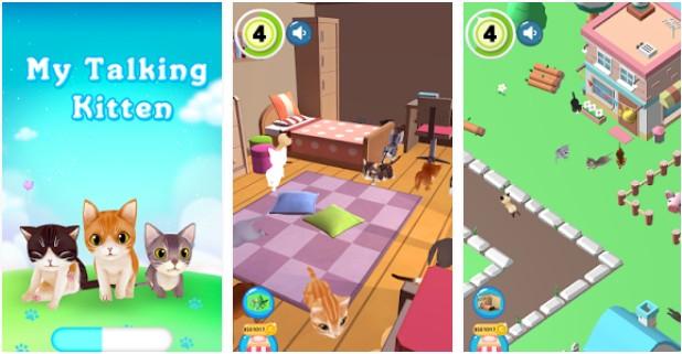 Saya Talking Kitty  Berbagai game