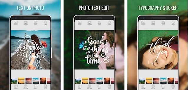 Text On Photo - Photo Text Edit