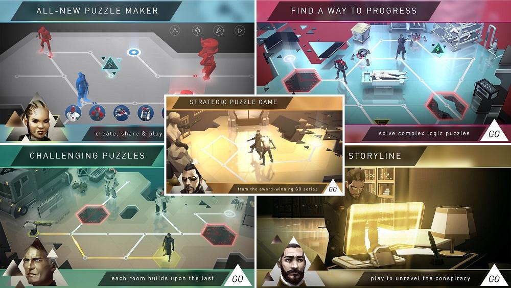 #11. Lara Croft Deus Ex Go