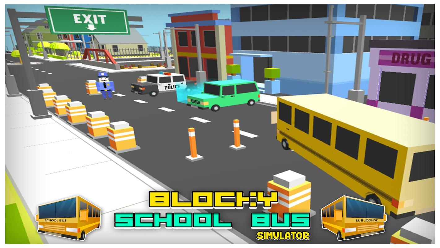 #18. Bus Sekolah Sopir Simulator 3D