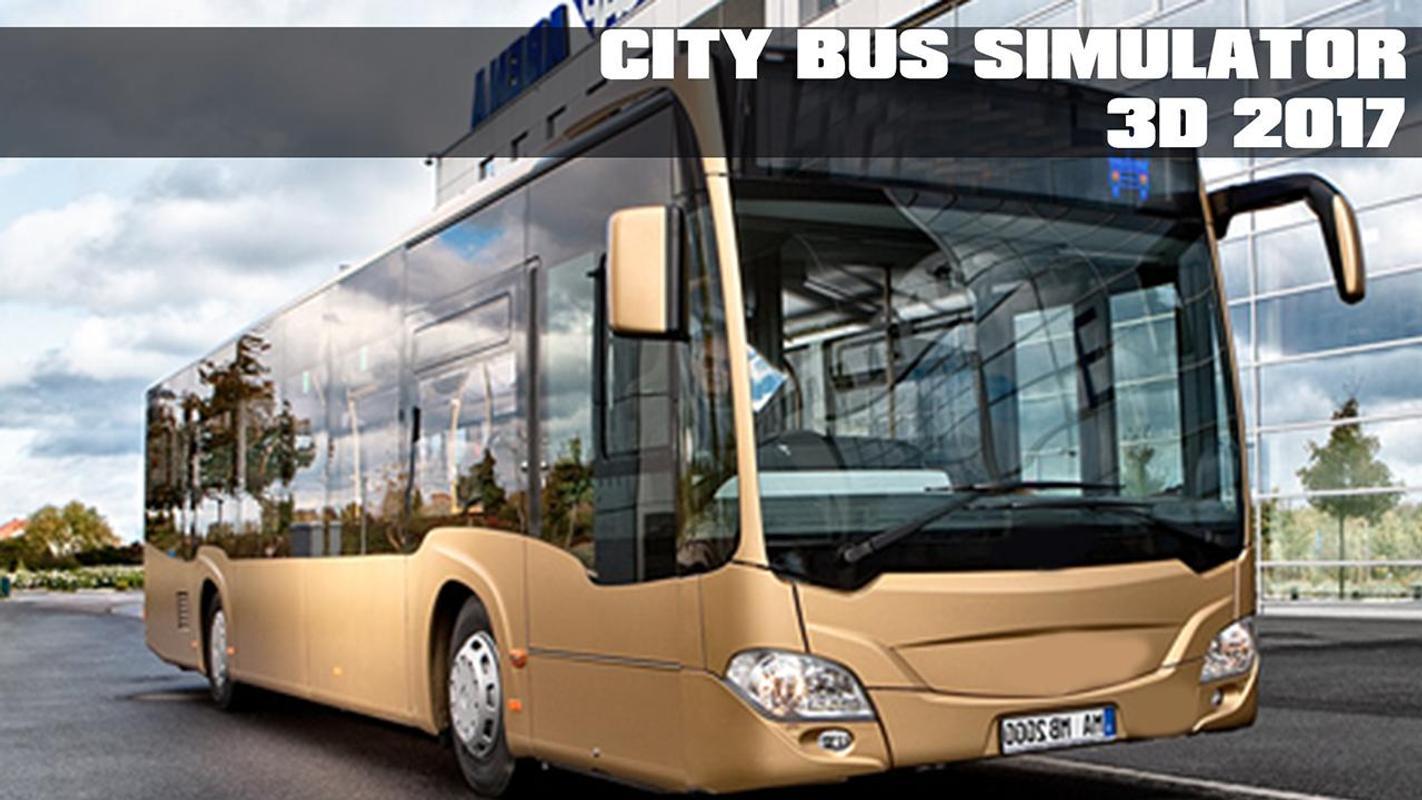 #19. City Bus Simulator 3D 2017