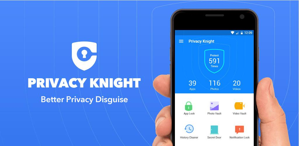 #5. Privacy Knight Privacy Applock, Vault, Hide Apps