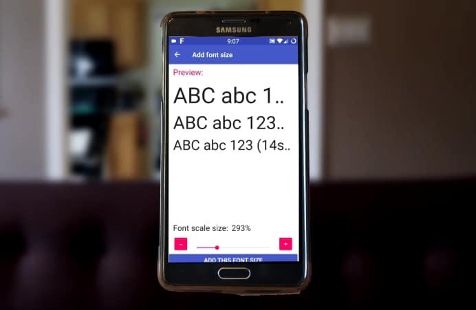 Big Font Untuk Merubah Ukuran Font Android