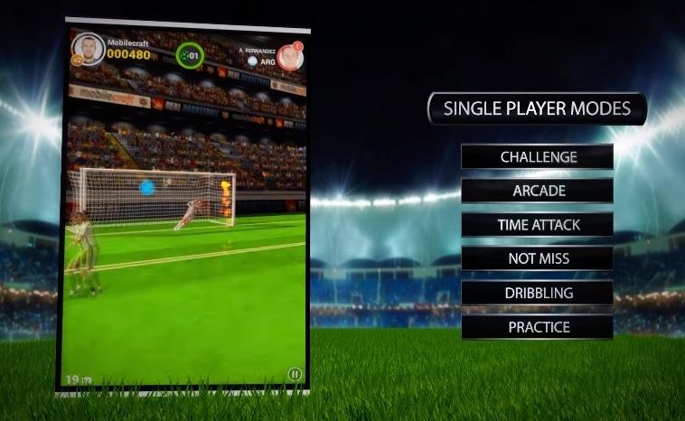 Flick Shoot 2 game sepak bola di android