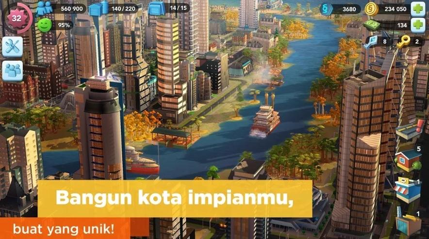 Game Bangun Kota SimCity BuildIt