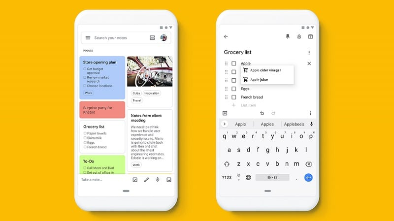 Google Keep - Catatan dan Daftar