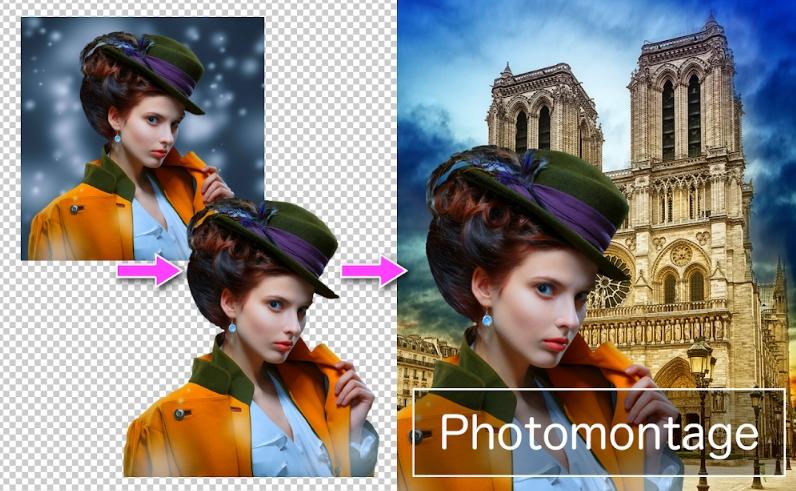 PhotoLayers Superimpose, Penghapus Latar Belakang