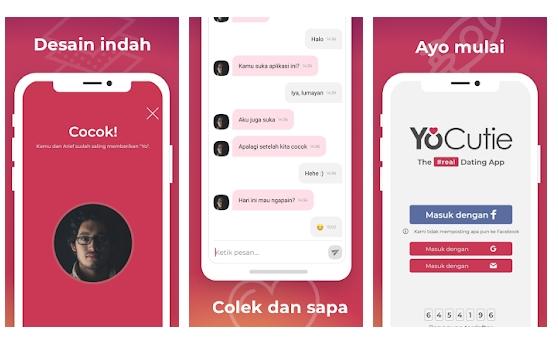 YoCutie Aplikasi Kencan Gratis