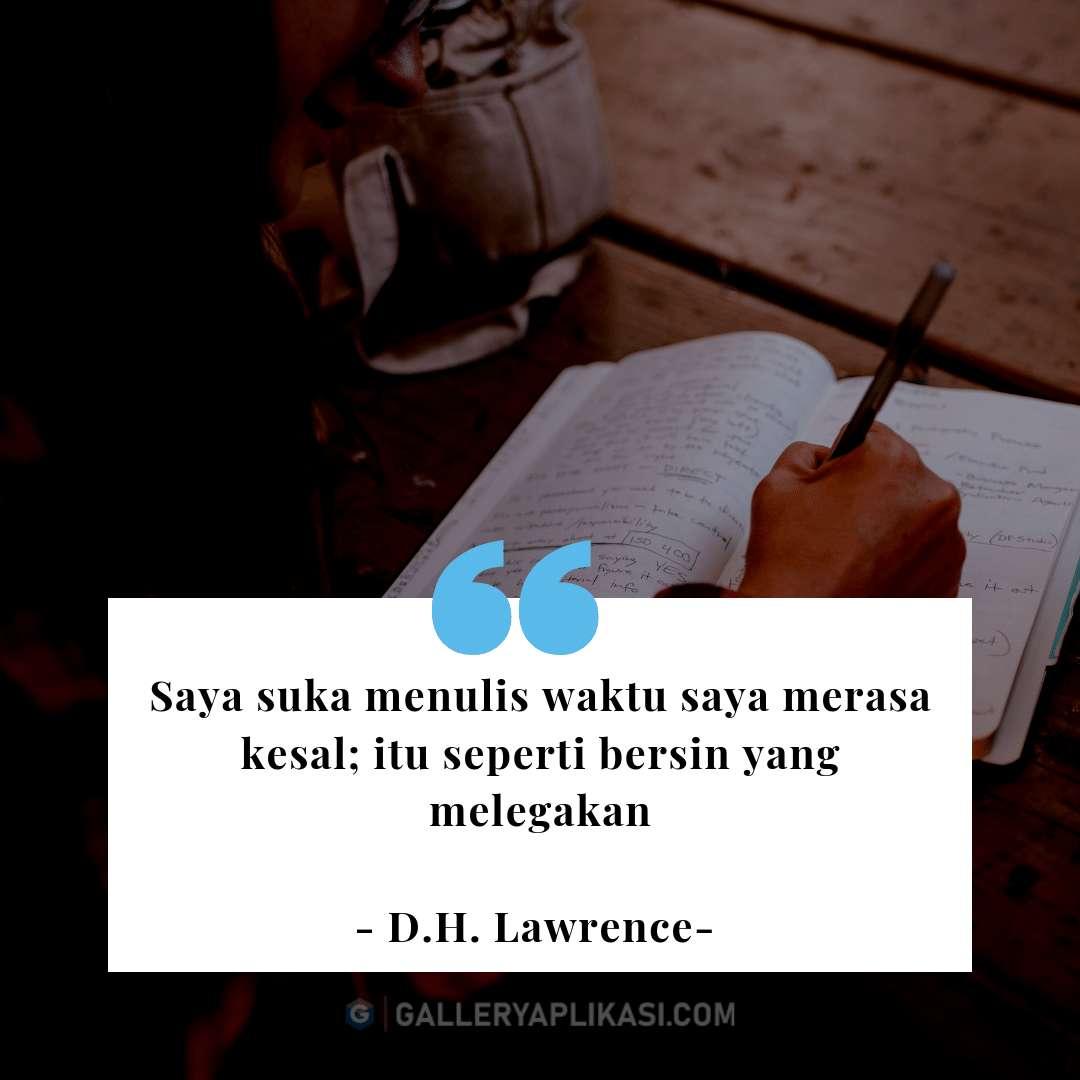 Menulis Untuk Melegakan