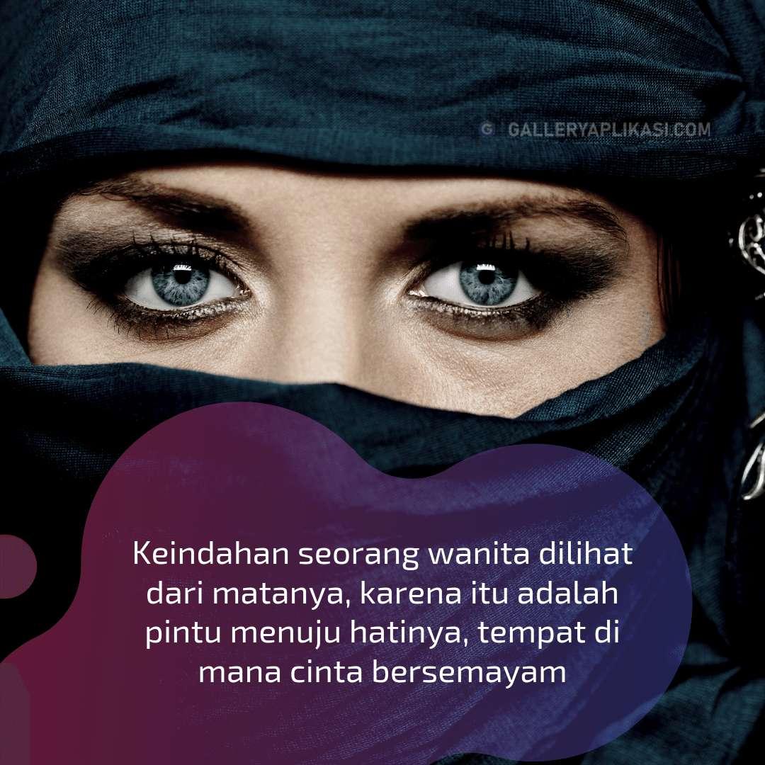 Keindahan Mata Wanita