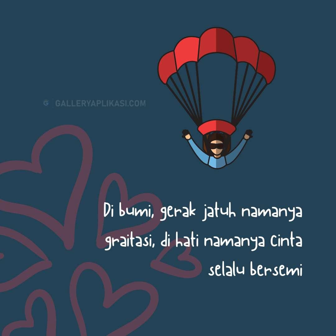 Hukum Gravitasi Dalam Cinta