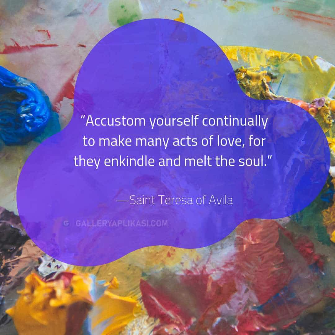 Accustom yourself continually