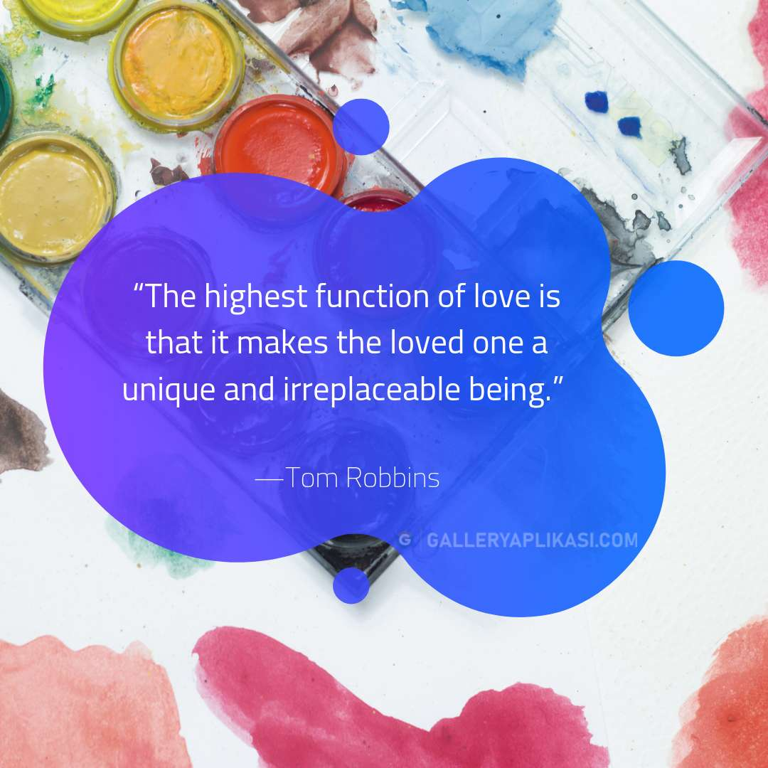 The highest function of love