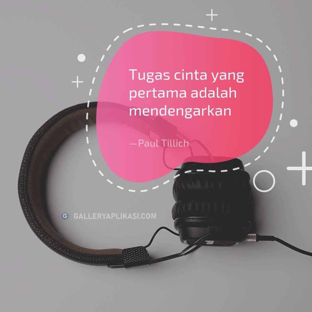 Cinta Adalah Mendengarkan