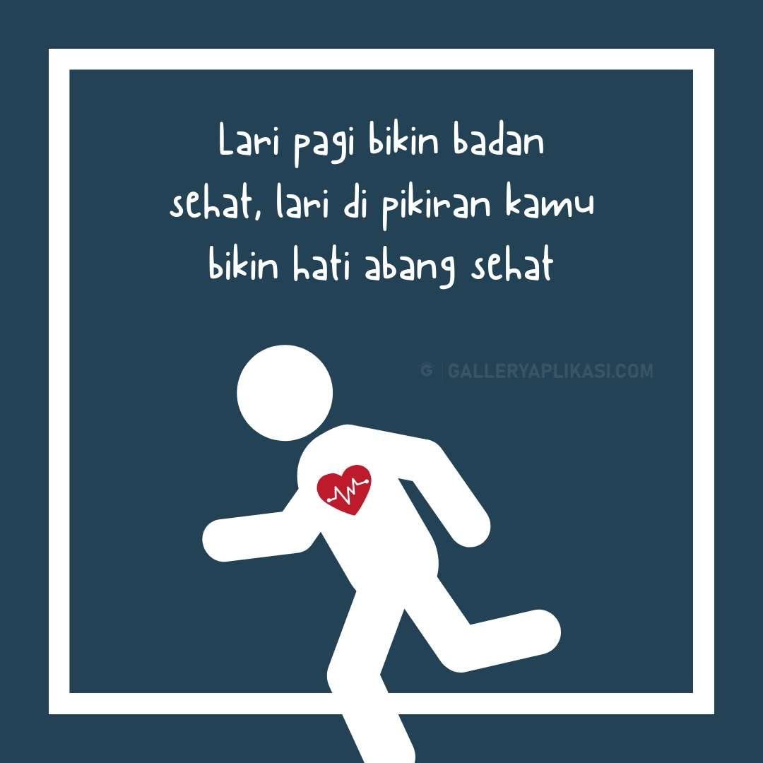 Lari Yang Bikin Sehat Hati