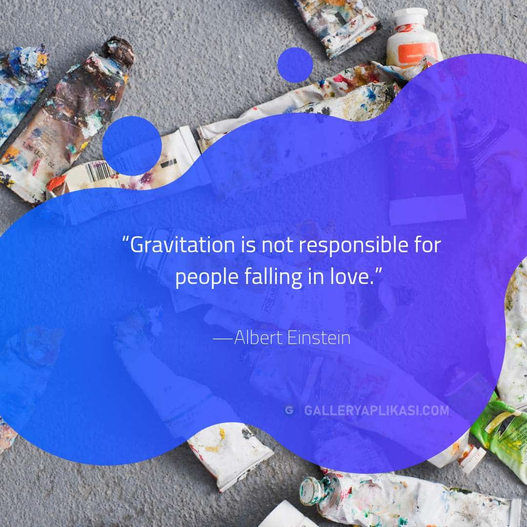 Gravitation is not responsible