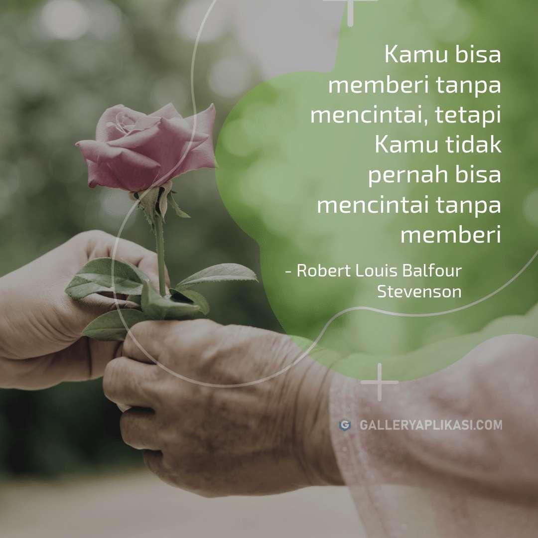 Memberi Untuk Mencintai