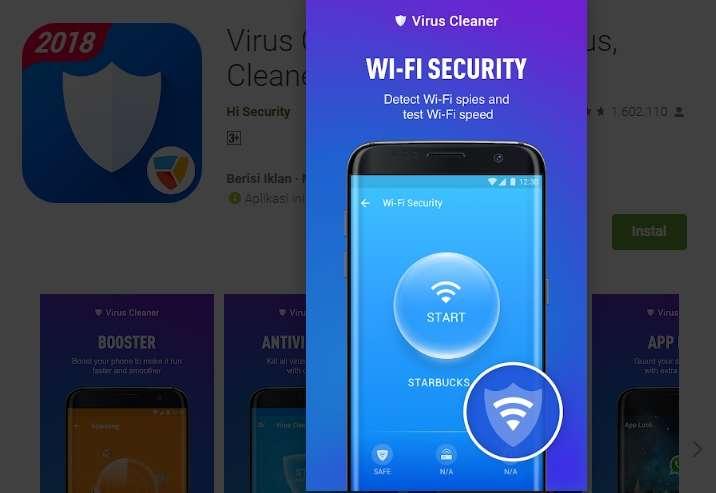 Deteksi Keamanan Wifi dan Kecepatan