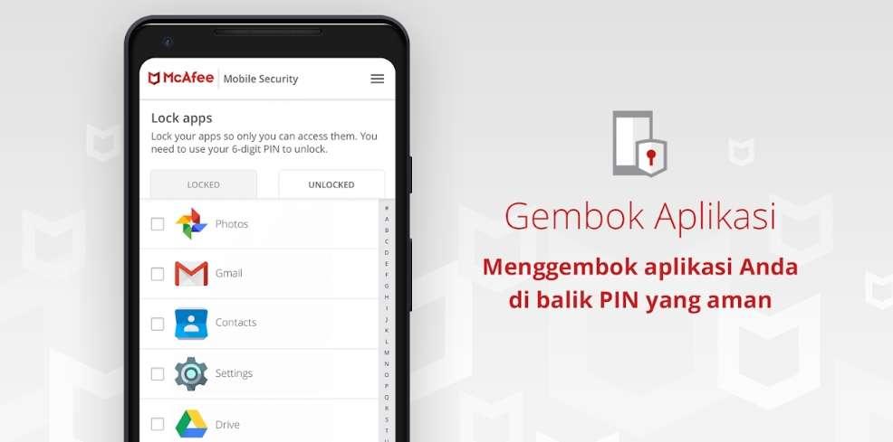 Gembok Aplikasi Dengan PIN