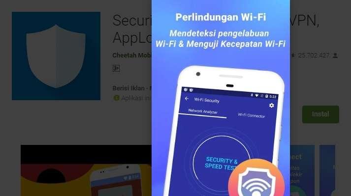 Mendeteksi Pengelabuhan Wifi
