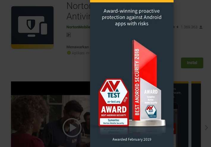 Pemenang Penghargaan Perlindungan Aplikasi Beresiko
