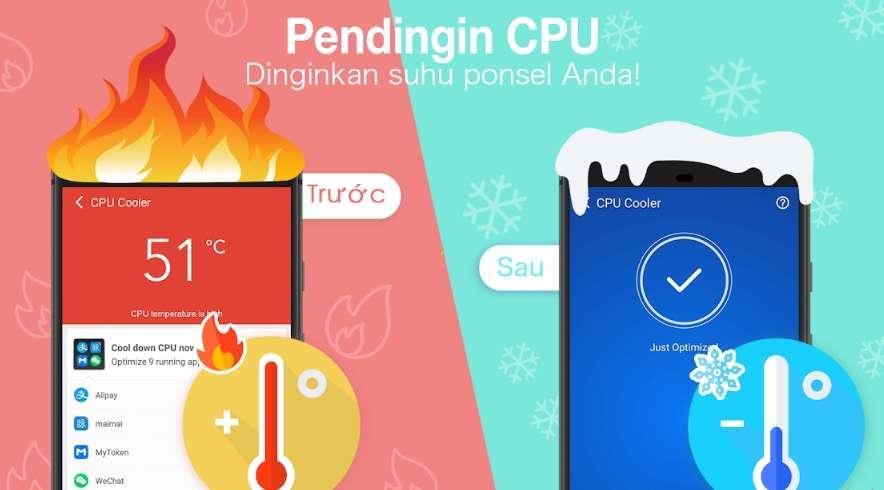 Pendingin CPU Android