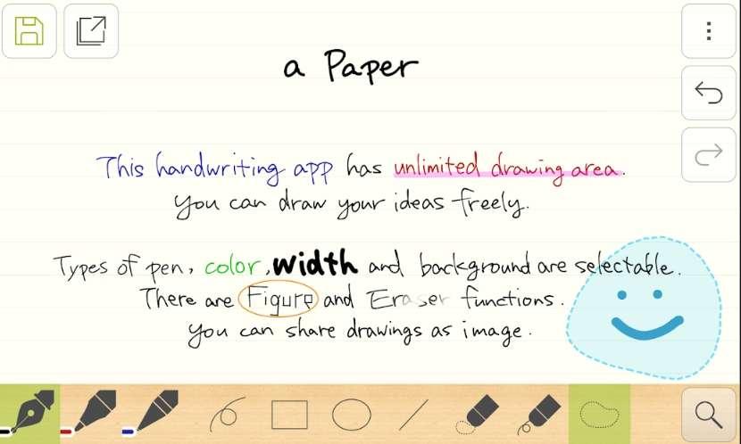 Handwriting memo a Paper