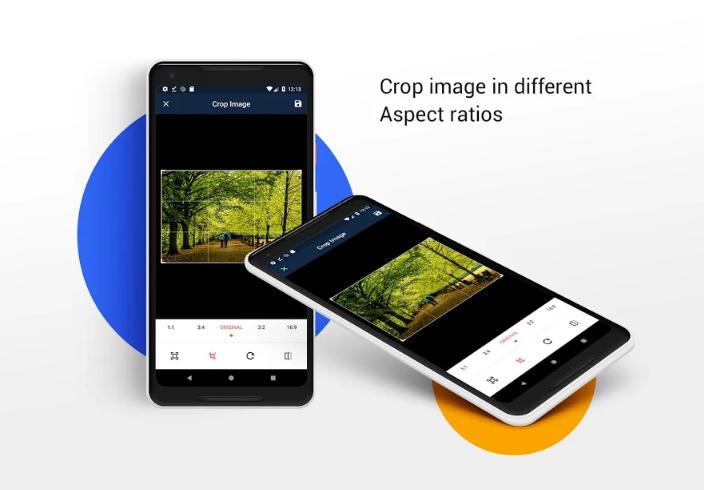 Crop Image - Rotate image