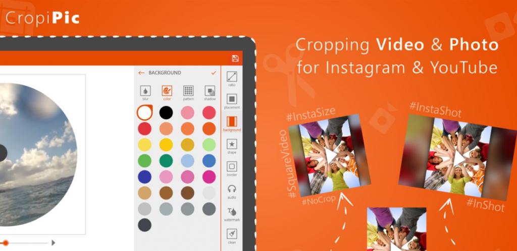 CropiPic - crop video & image